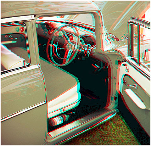 '57 Chev'. 3-D Photography by Marc Dawson.