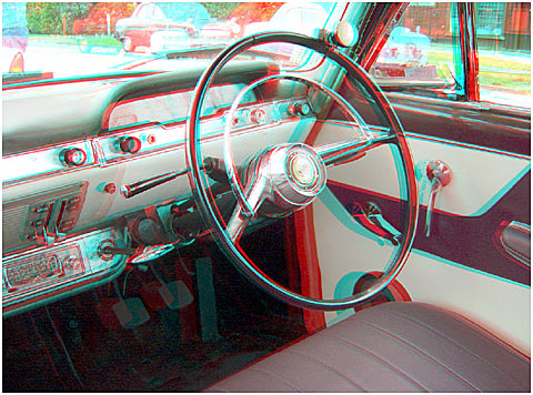 Interior of a Mark 2 Zephyr. 3-D Photography by Marc Dawson.