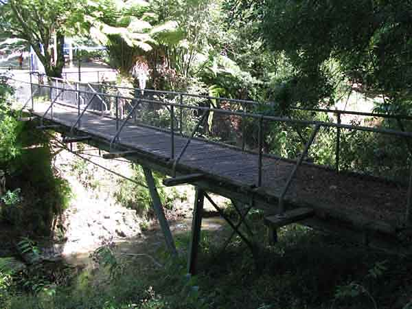 The Last Rustic Footbridge